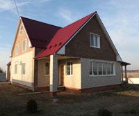 Дом после отделки фасада японскими фасадными панелями
