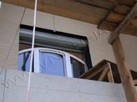 Установлены панели без предварительной установки обрамлений