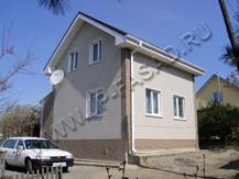 Дачный домик с вентилируемым фасадом