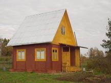 Дачный домик без вентилируемого фасада