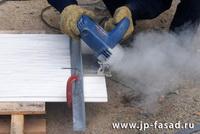 Резать сайдинг – пыльная работа! Используйте промышленный пылесос