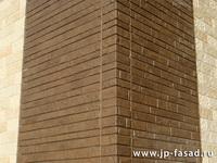 Внешний угол вентилируемого фасада.