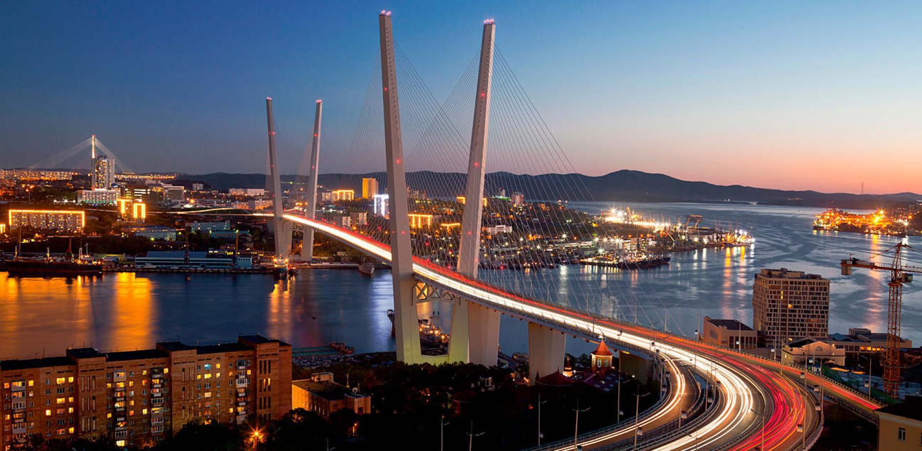 панорамные фото мостов владивостока студийной съемке чаще